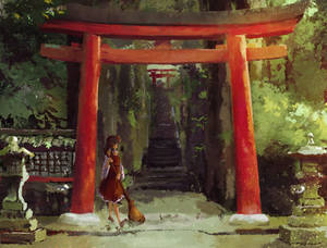 Another day at Hakurei Shrine