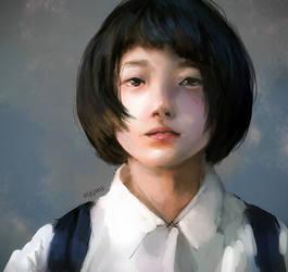 Portrait study by Ayywa