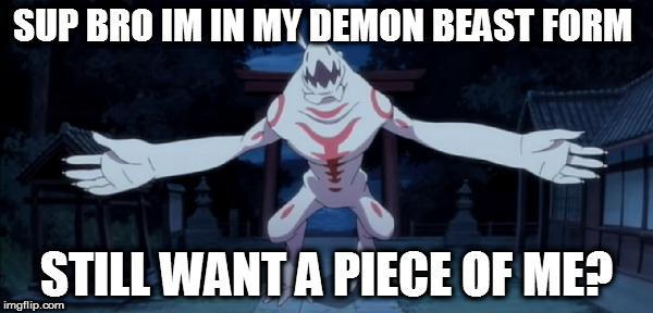 Hideki Beast #2 by XDemonic-AngelX