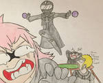 Marluxia Caught Cheating by XDemonic-AngelX