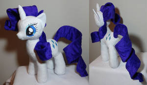 Temporary comp of completed Rarity plush