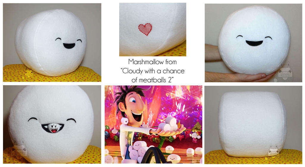 Marshmallow Buddy By JanellesPlushies