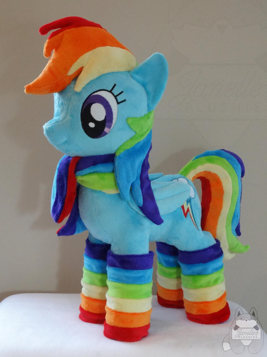 First Dashie plush!