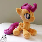 Scootaloo Beanie Sitting