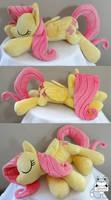 Sleeping Fluttershy Plush AT OTAKON 2014!!