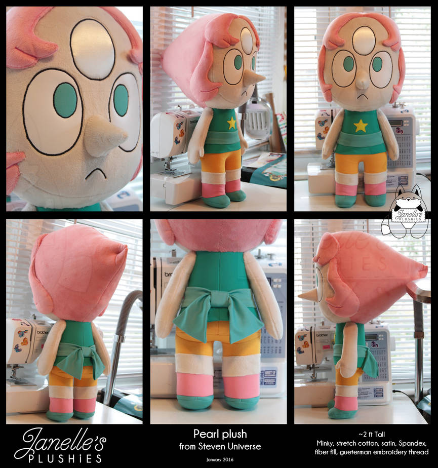Giant Pearl Plush from Steven Universe