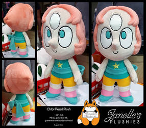 12 in Chibi Pearl Plush by JanellesPlushies