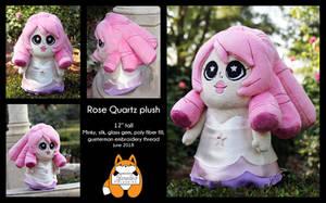 Rose Quartz plush