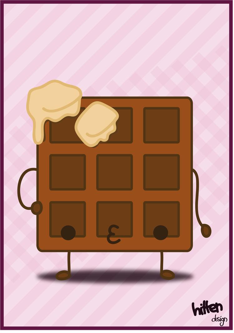 Kawaii waffle by HittenDesign