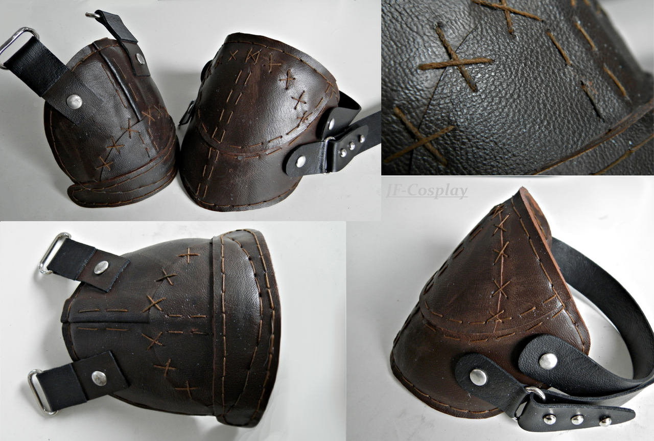 Thief WIP2 - knee pads by JF-Cosplay