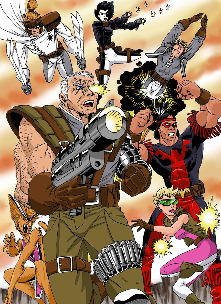 Marvel's X-Force by xcub