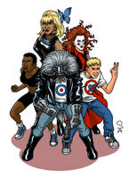 The Invisibles Volume 1 by xcub