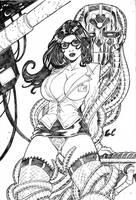 Lois lane and Brainiac by LCFreitas