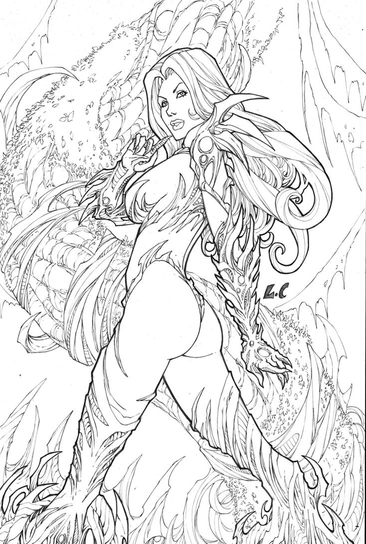 Witchblade by LCFreitas