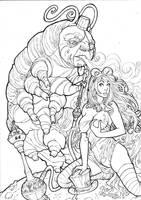 Alice in Wonderland Commission by LCFreitas
