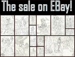 ARTS FOR SALE!