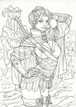 Donrha - The Wandering Sword