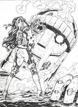 Rogue X-men  Commission