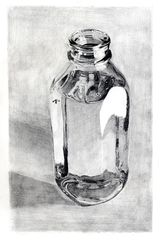 Glass Bottle by tydogg on DeviantArt