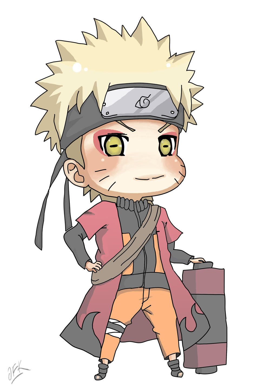 how to draw chibi naruto shippuden characters