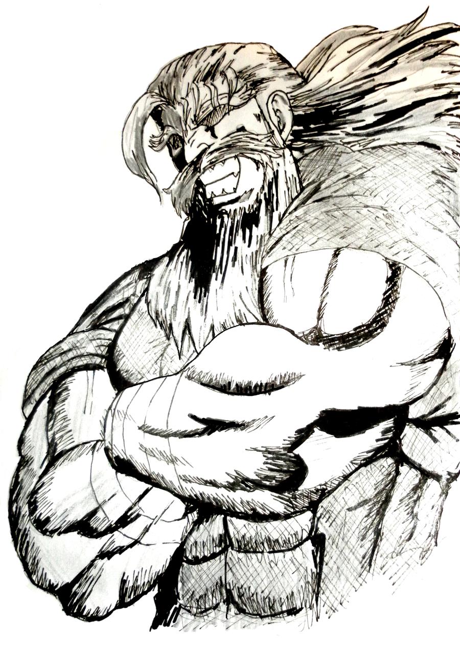 Poster Propaganda Breath of Fire IV Pixel Art Ryu Type B