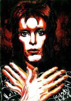 David Bowie by Sass-Haunted
