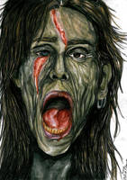 Zombie Steven Tyler by Sass-Haunted