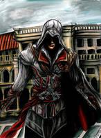 Ezio Auditore by Sass-Haunted