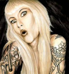 Sarah Blackwood by Sass-Haunted