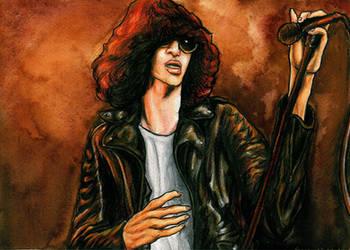 Joey Ramone by Sass-Haunted