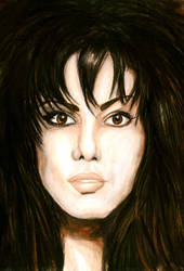 Joan Jett by Sass-Haunted