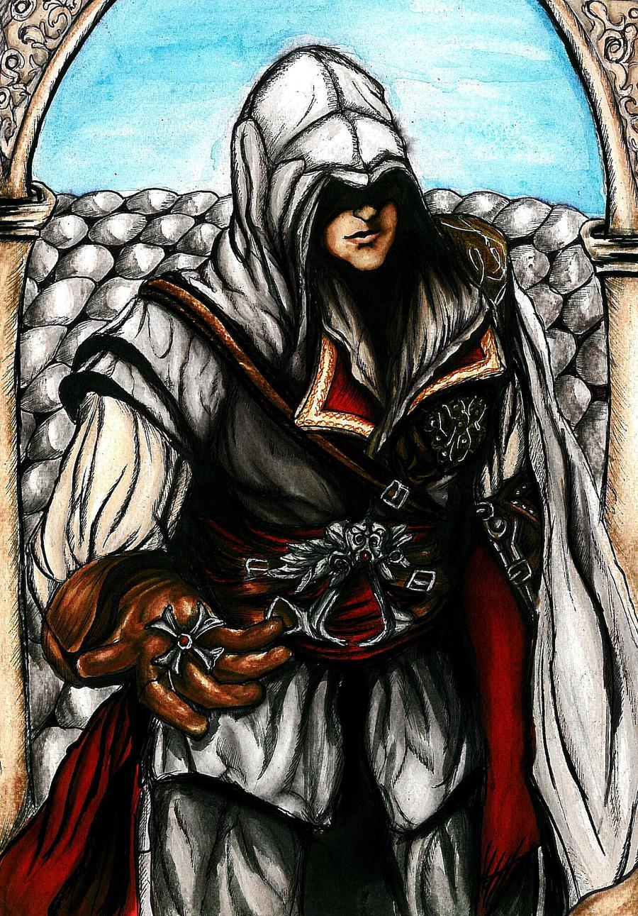 Ezio Auditore II by SassySas-777