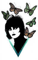 Siouxsie And  The  Butterflies v2. by Sass-Haunted