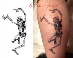 Skeleton Tattoo Vs Project
