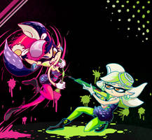 Squid Sisters! by bstuffs