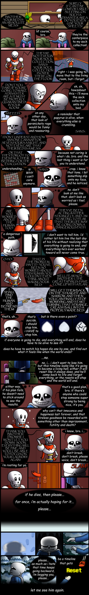 The Best-Laid Plans (Undertale genocide spoilers) by StephOBrien