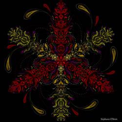 Symmetric Pattern: Regal Duality by StephOBrien
