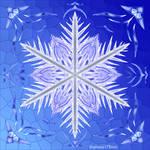 Symmetric Pattern: Bladed Sky by StephOBrien