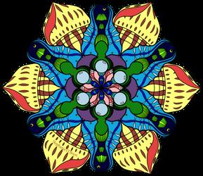 Symmetric Pattern: Symmetrical Sea
