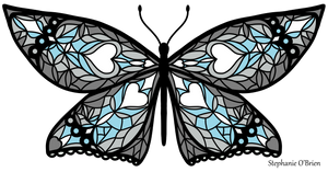 Fly With Pride: Demiboy Flag Butterfly