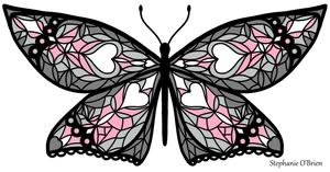 Fly With Pride: Demigirl Flag Butterfly