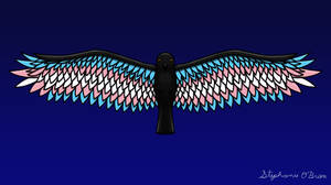 Fly With Pride, Raven Series - Transgender