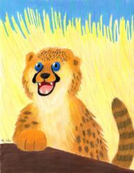 Cheetah Cub by kyrtuck