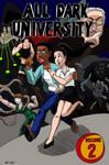 All Dark University Volume 2 cover by kyrtuck