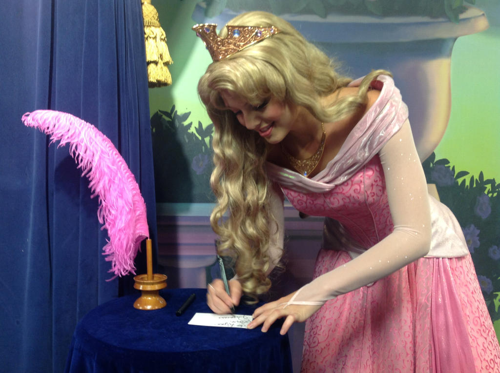 To Ryan - Love, Princess Aurora by SantosPhillipCarlo