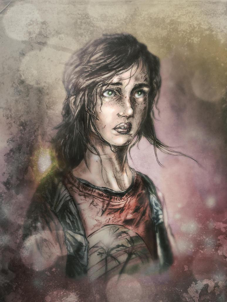 Ellie-The Last of Us by Clay-zius399
