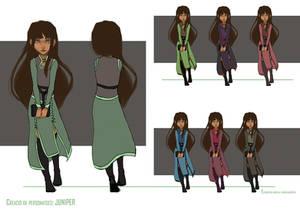 Juniper's Garden - Character Design: Juniper 01
