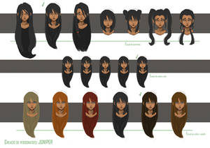 Juniper's Garden - Character Design: Juniper 02