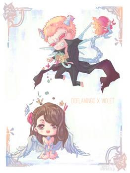 Doflamingo x Violet
