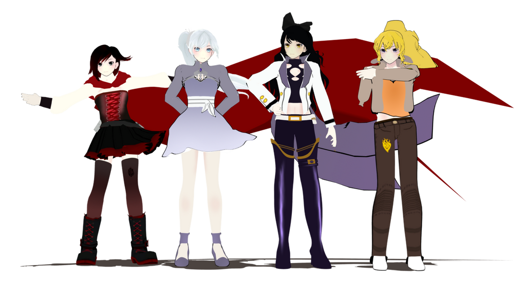 Team RWBY Reunion by BrandonK10